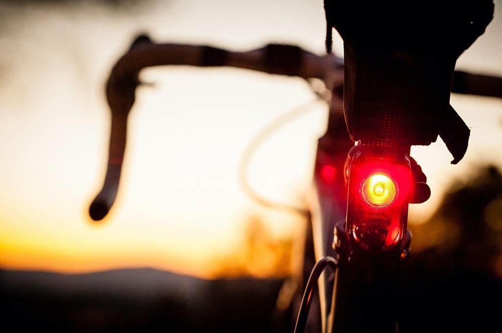 Luces de día en bicis de carretera
