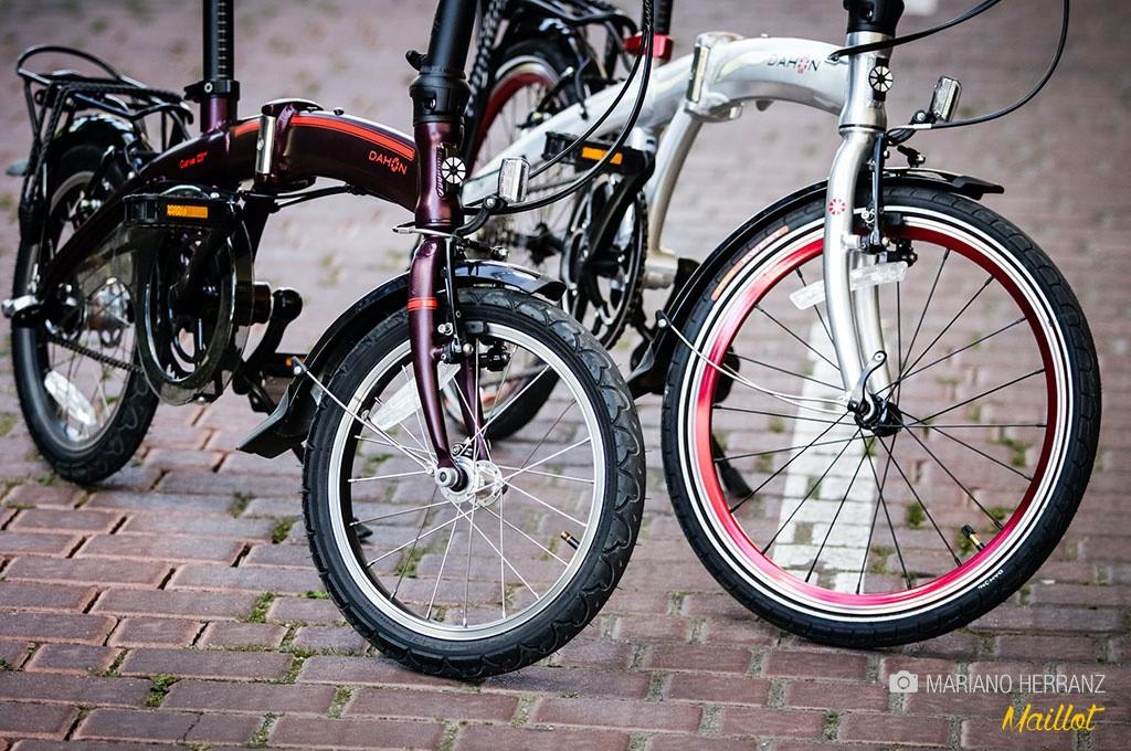 Descubro que bicicleta plegables las hay de todos los tipos, urbanas, deportivas, de MTB...¡hasta eléctricas!