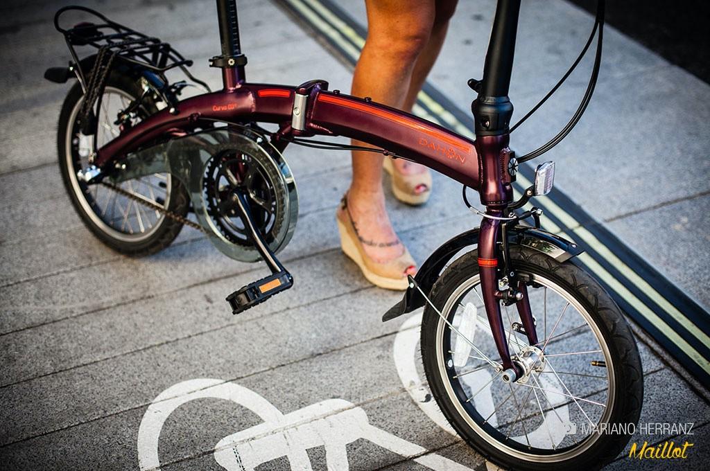 bicicletas plegables las hay de todos los tipos, urbanas, deportivas, de MTB...¡hasta eléctricas!