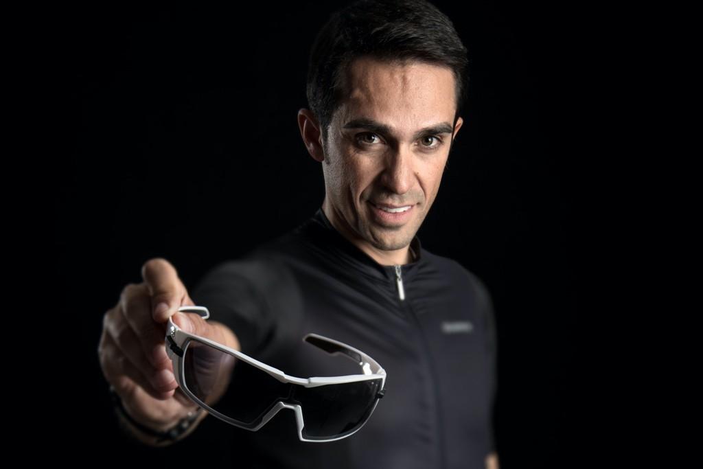 Alberto Contador: embajador de la marca de gafas de ciclismo KOO