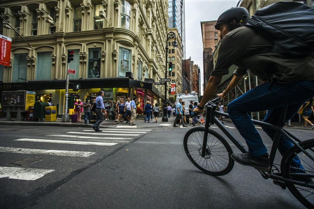 """El nuevo """"Bad Boy"""" de Cannondale es un ciclista urbano."""