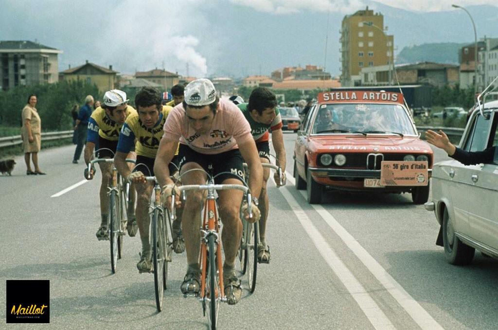 Héroes del giro: Eddie Merckx
