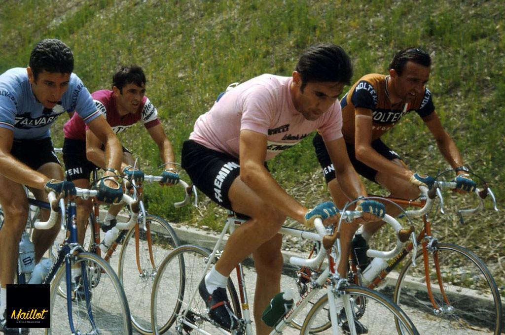 Eddie Merckx´, junto a Alfredo Binda es otro de los grandes nombres del ciclismo de todos los tiempos