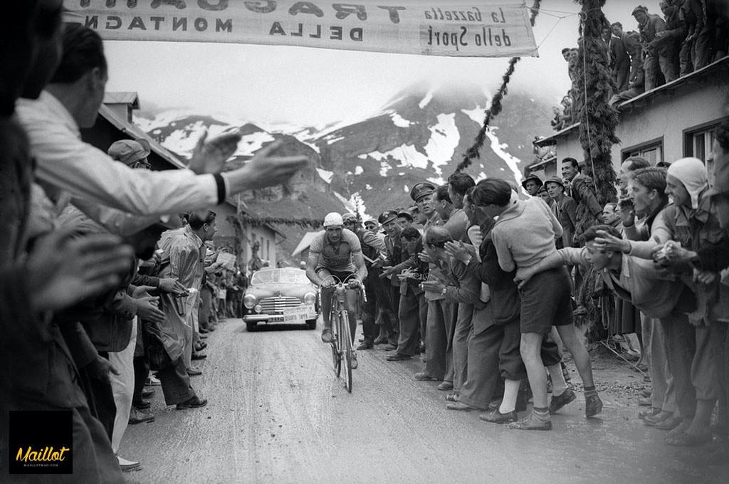 El Giro se gana de cinco en cinco: Gino Bartali
