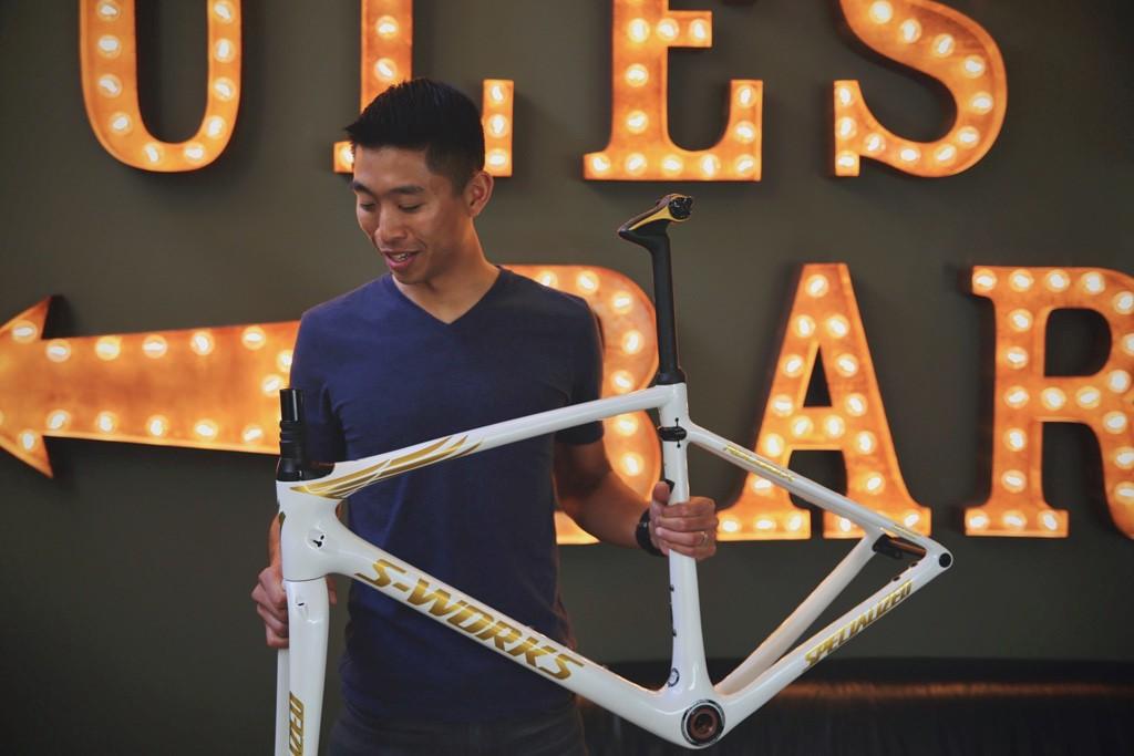 Chris Yu, de Specialized Bicycles