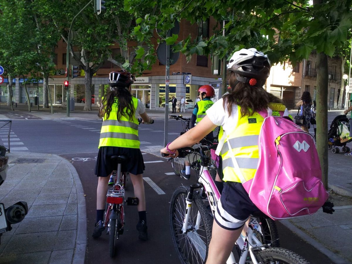 Movilidad activa para los más pequeños: el bicibús