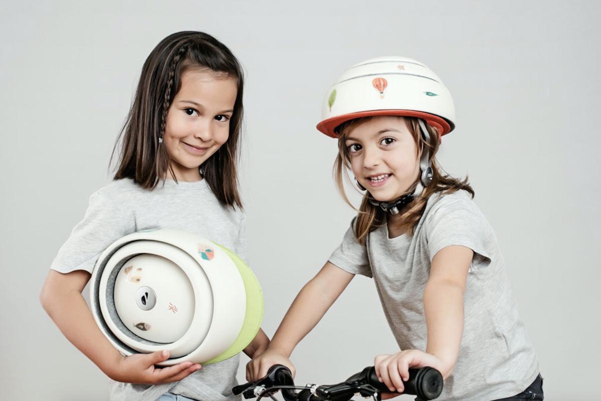 Cómo elegir un casco infantil para que los niños monten en bici en ciudad