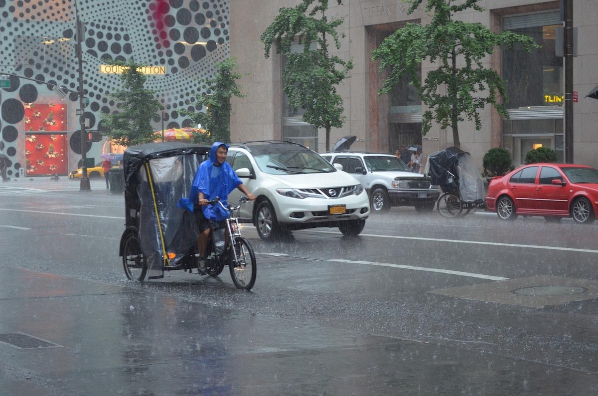 Consejos para moverte por la ciudad cuando llueve
