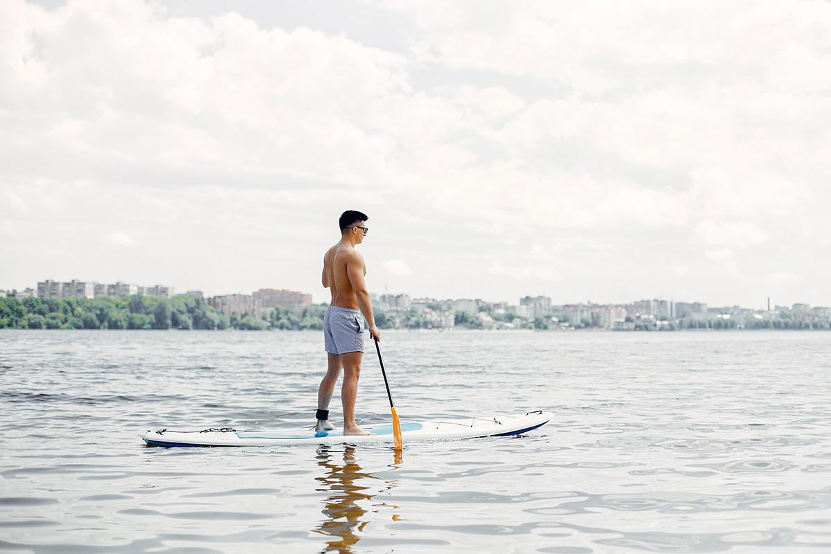 Entrenamiento cruzado en ciclismo: paddle surf