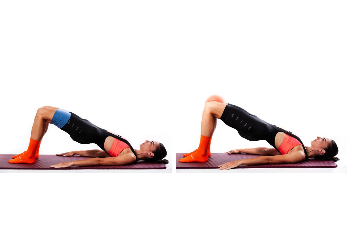 Ejercicios de elevación para fortalecer las rodillas