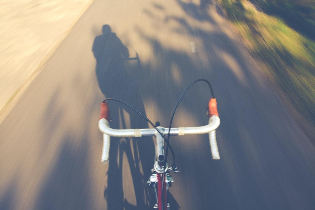 Vistas desde la bicicleta
