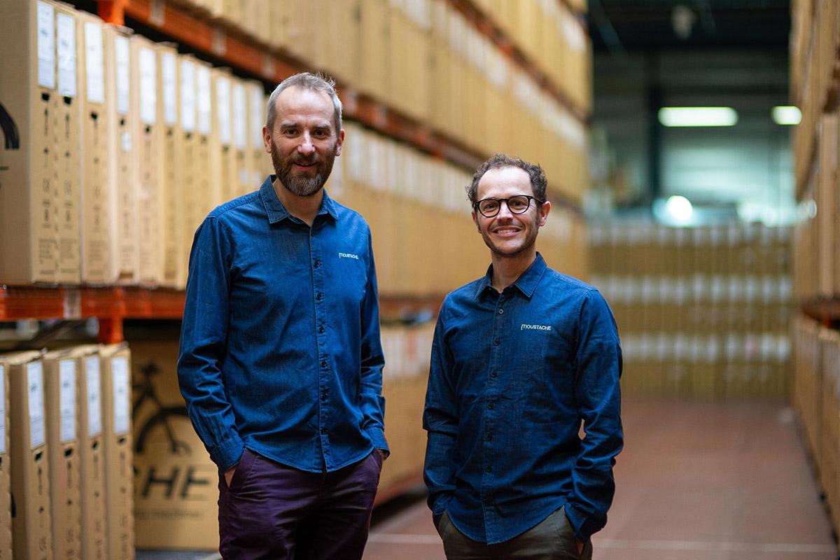 Emmanuel Antonot y Greg Sand, socios y fundadores de Moustache Bikes
