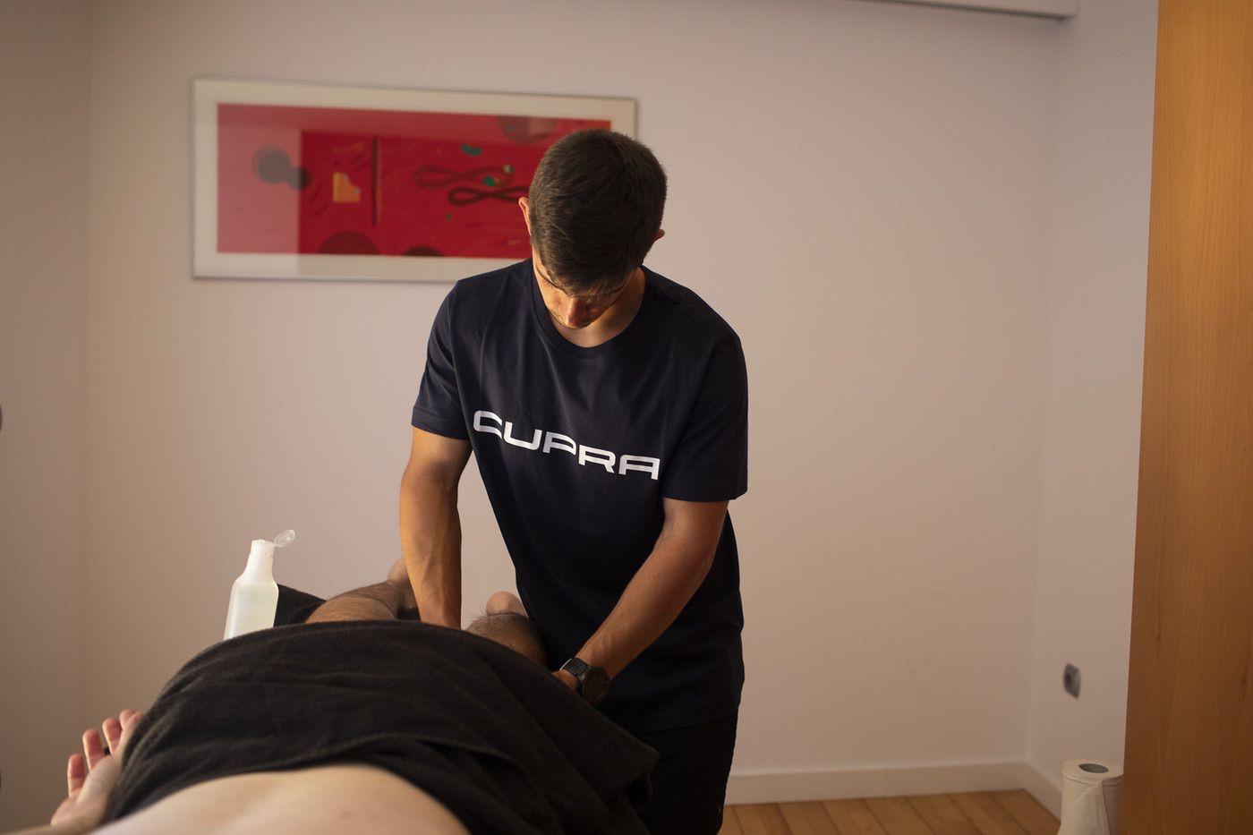 Servicio de fisioterapia para los miembros de la CUPRA Challenge Quebrantahuesos 2019