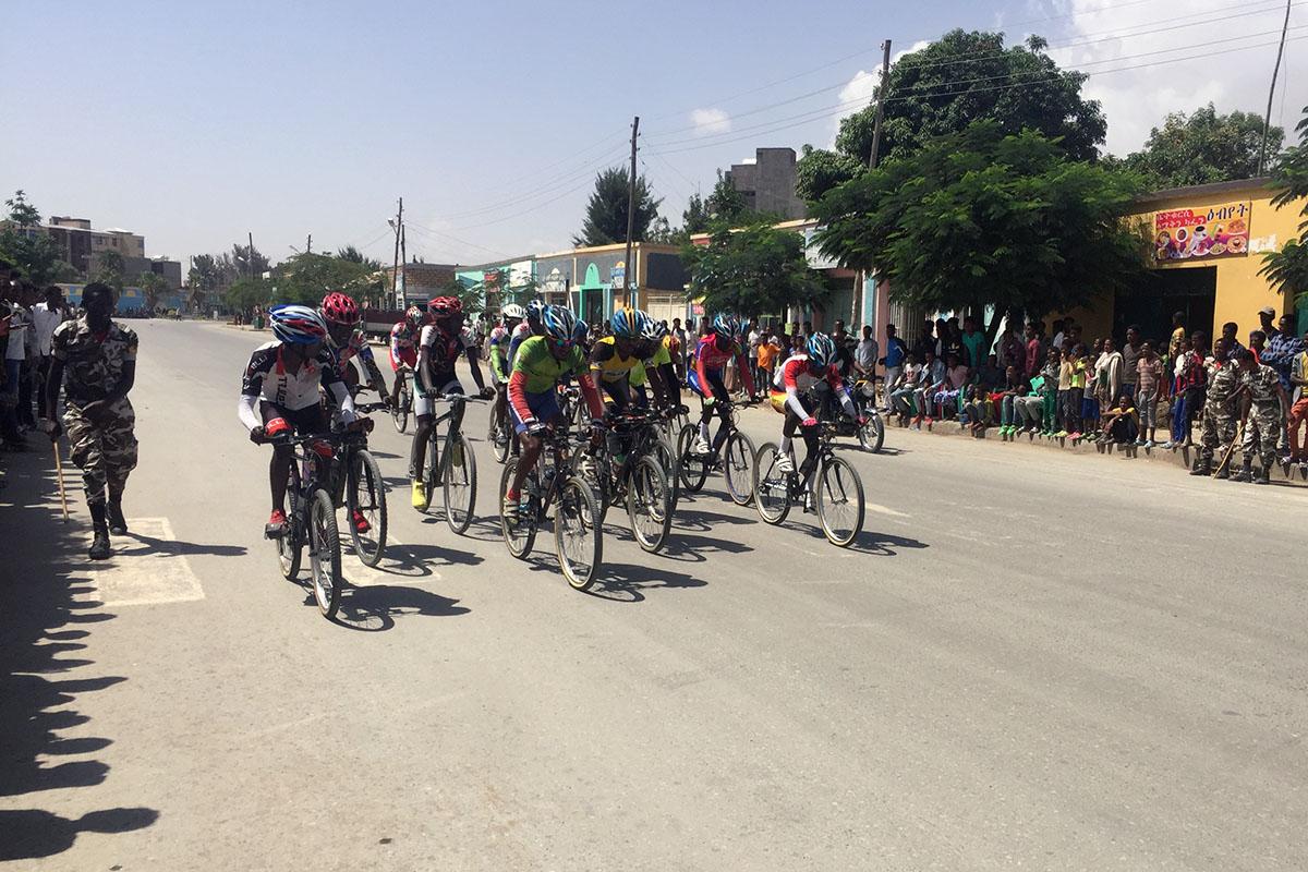 Wukro como ejemplo del desarrollo del ciclismo en Etiopía