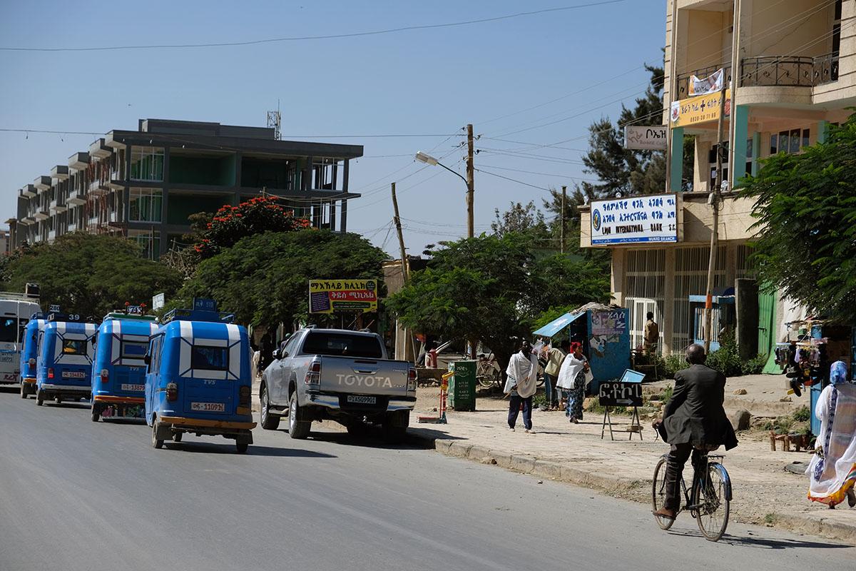 Calle principal de Wukro