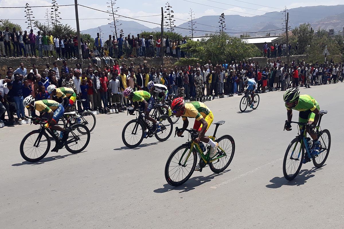 El ciclismo en Wukro: una apuesta de futuro para los jóvenes