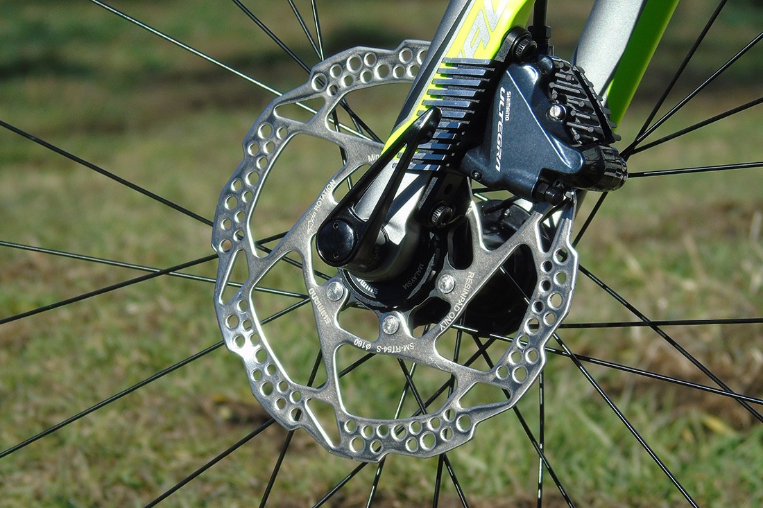 Frenos Shimano Ultegra Disc en la Merida Reacto Disc 5000