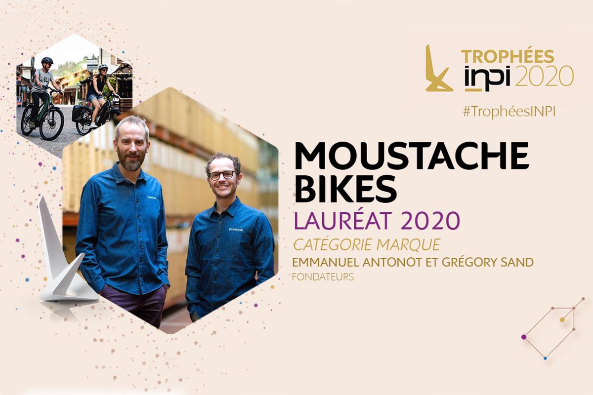 Moustache Bikes premiadas en los Trofeos de Innovación INPI 2020