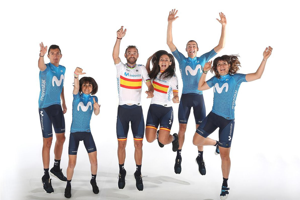 Movistar Team masculino y femenino