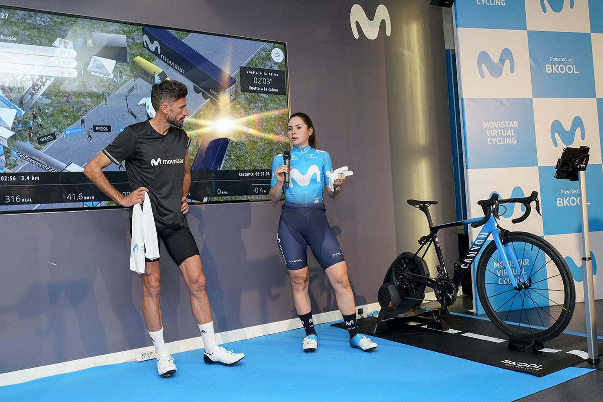 Movistar Virtual Cycling, competición virtual con rodillo