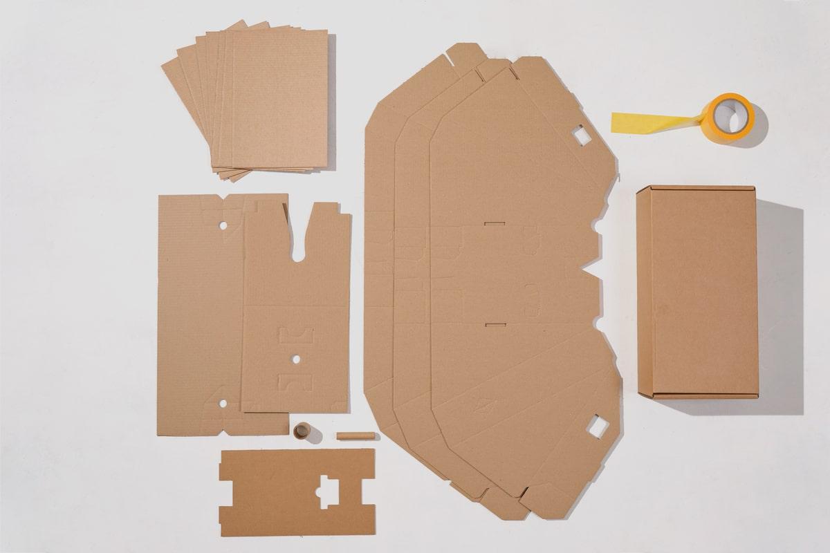 Las cajas de Cannondale, 100% reciclables