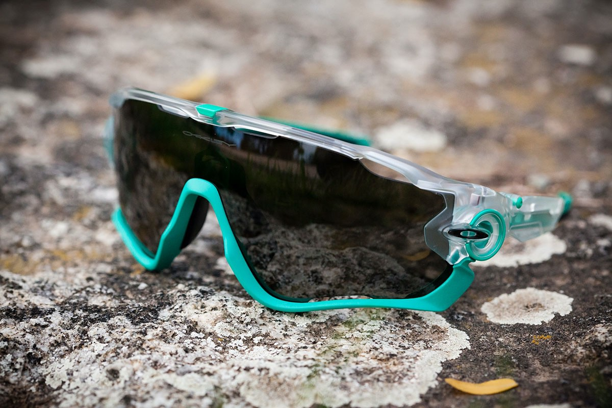 Oakley Jawbreaker Crystal POP W/Black Iridium