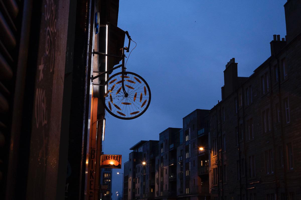 Edimburgo, una ciudad a pedales