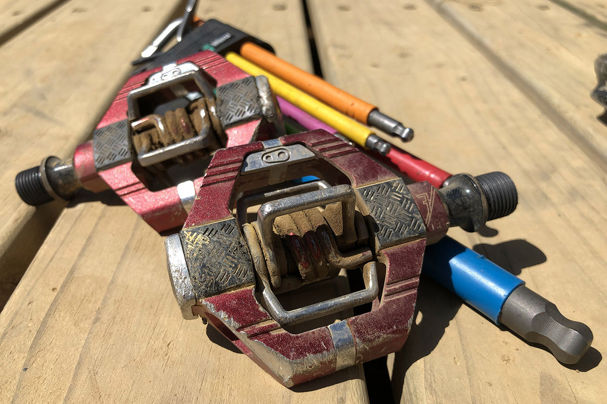 Pedales Crank Brothers Candy para mountain bike y gravel