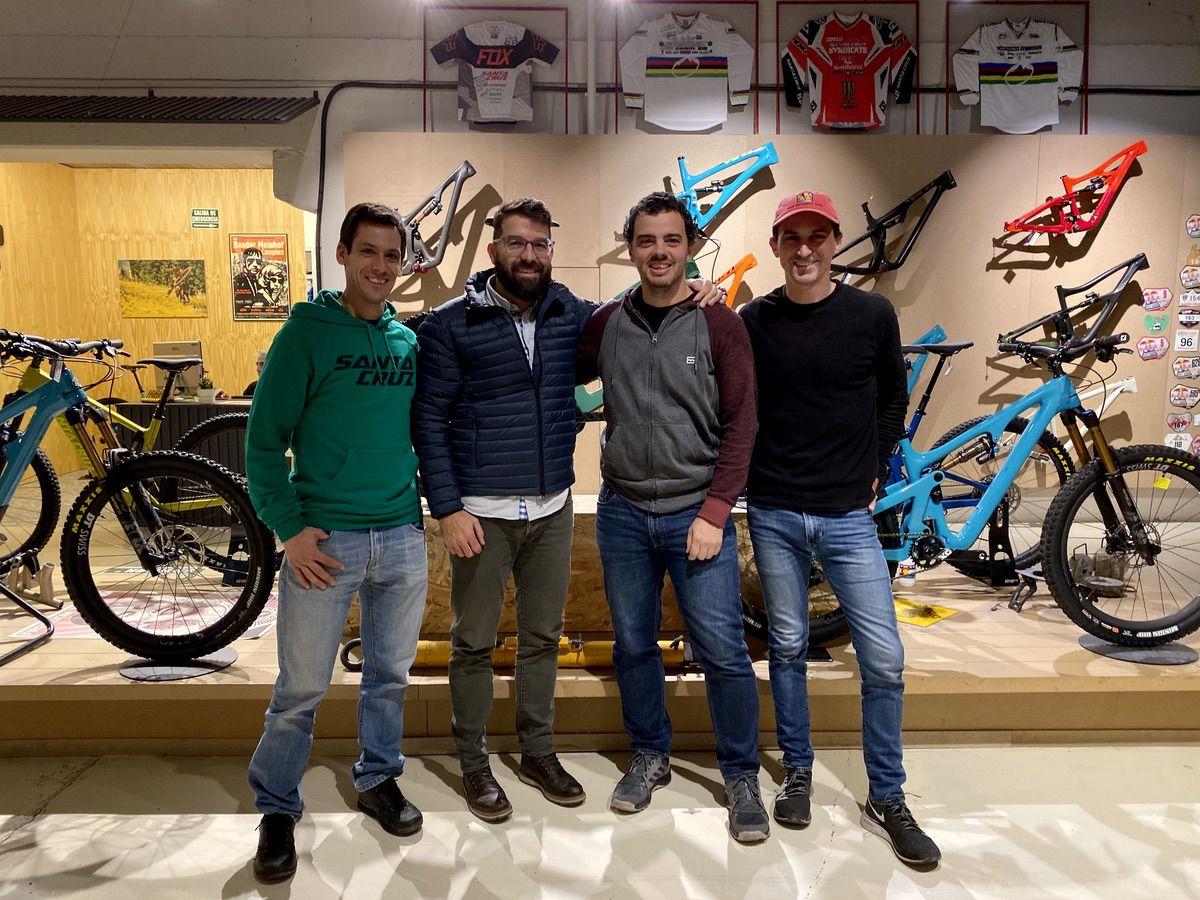 Daniel Hernández, Guti Martín, Luis Miguel del Cerro y Alberto Álvarez