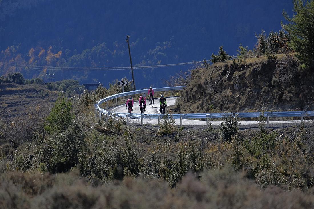 Primeras pedaladas en Zona Zero Road, 31 rutas por el Pirineo