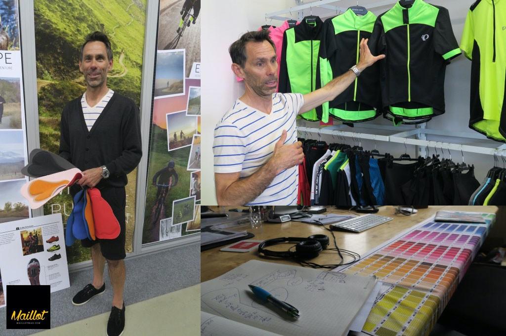 Entrevista a Chris Jones, Director Global de Producto Textil en Pearl Izumi