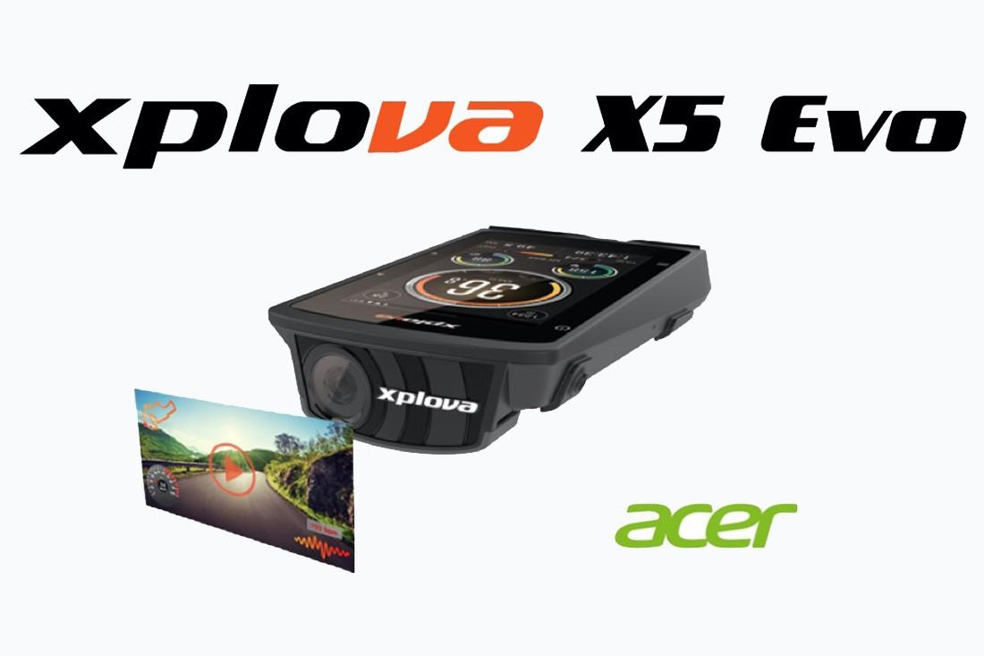 Xplova X5, ciclocomputador GPS con cámara integrada