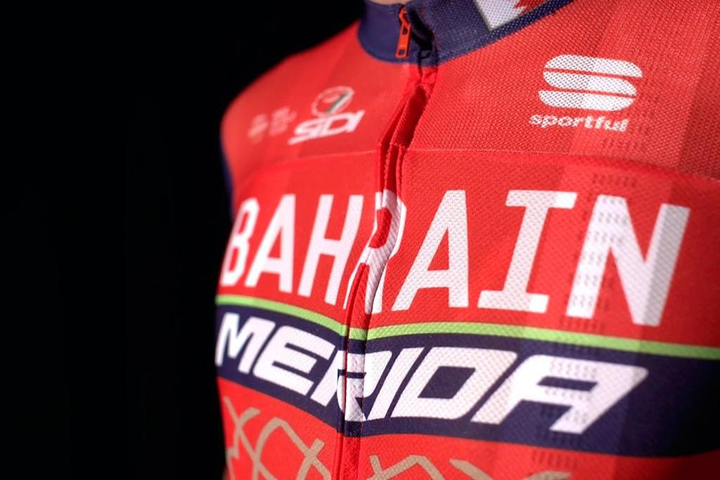 Conoce las equipaciones de Sportful para el Bahrain Merida Team