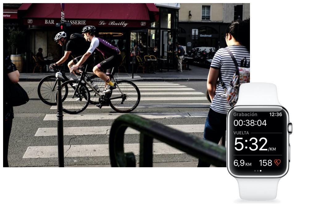 Strava convierte tu smart watch en un ciclocoomputador