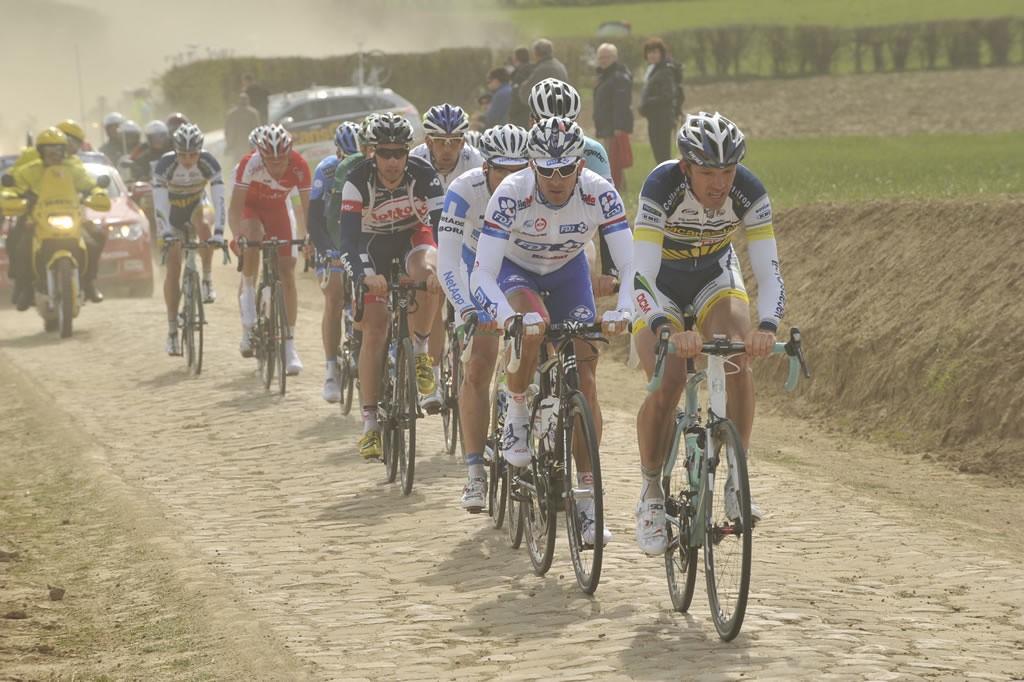 El pavés de la París-Roubaix