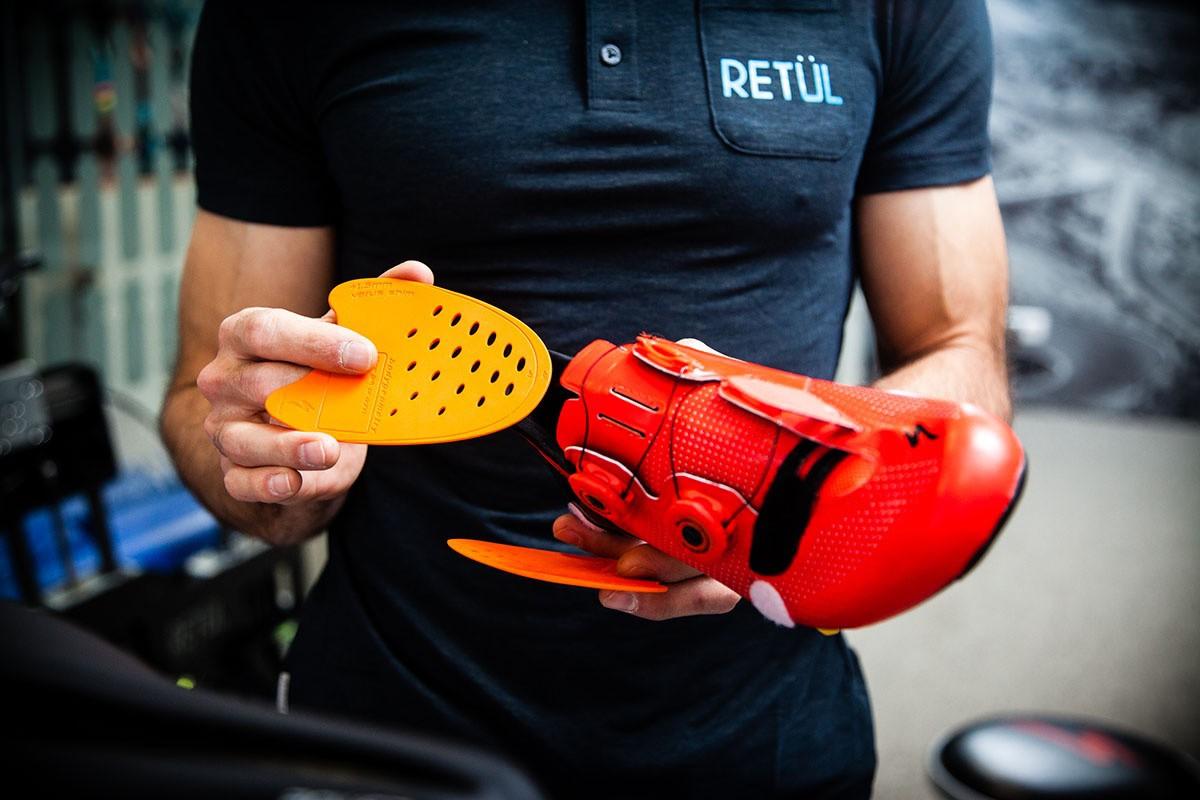 Retül Fit: ajuste de calas y bici