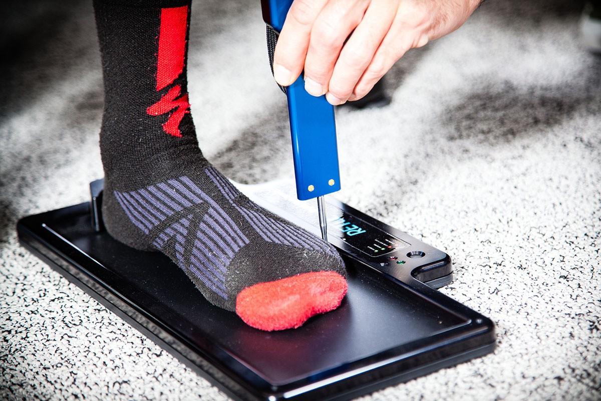 Retül Match, cálculo talla zapatillas