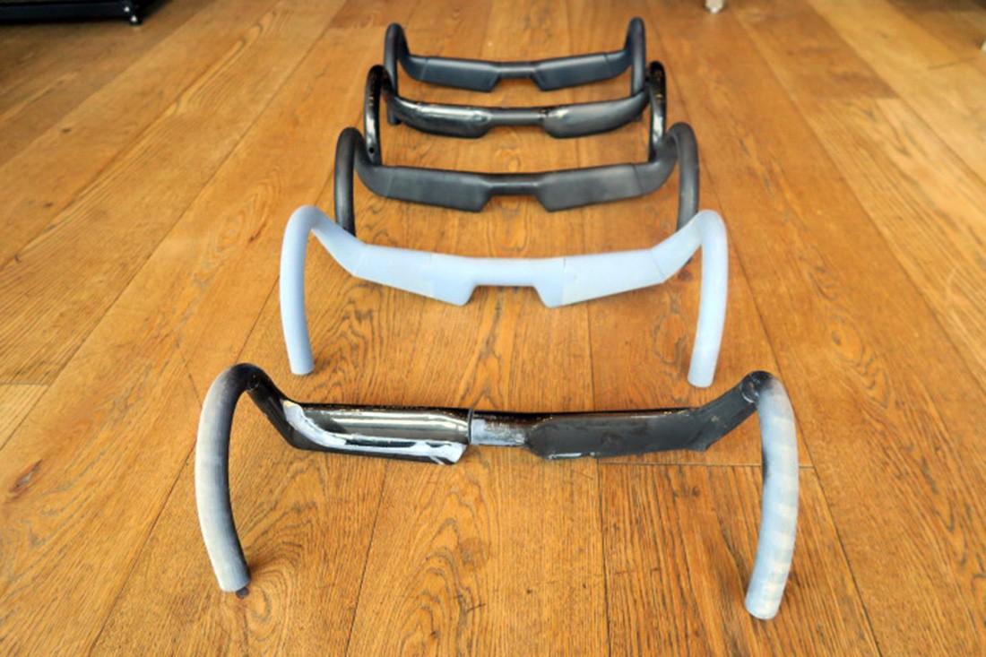 Prototipos de manillares para la nueva S-Works Venge Disc