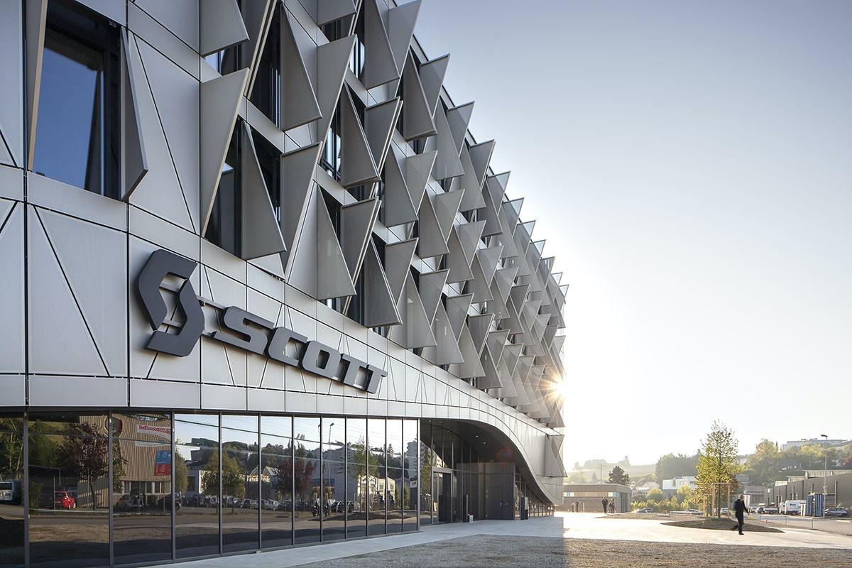 Nuevo edificio de SCOTT en Givisiez, Suiza