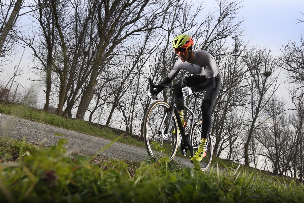 A correr con la S-Works Roubaix