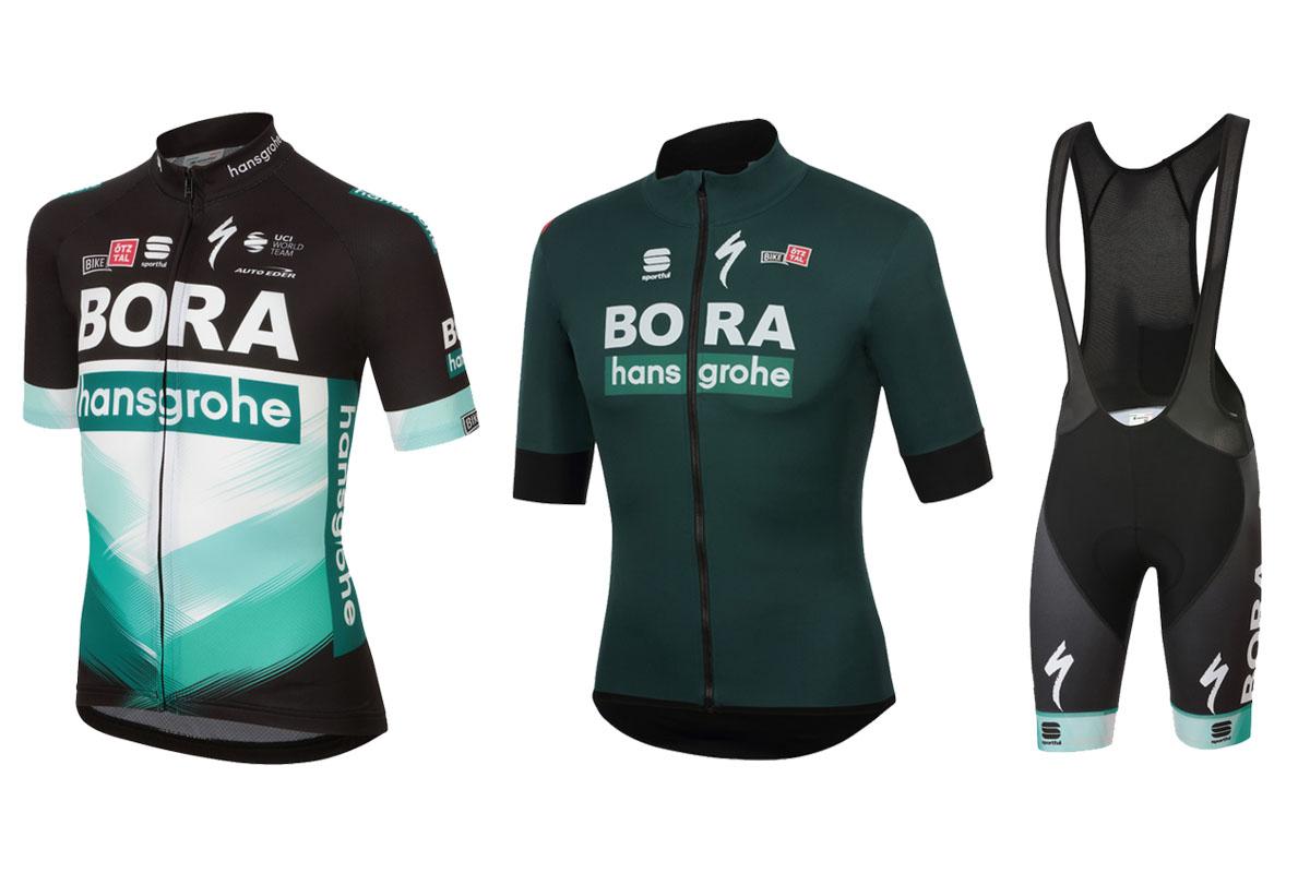 Novedades en la colección Sportful Bora-Hansgrohe 2020