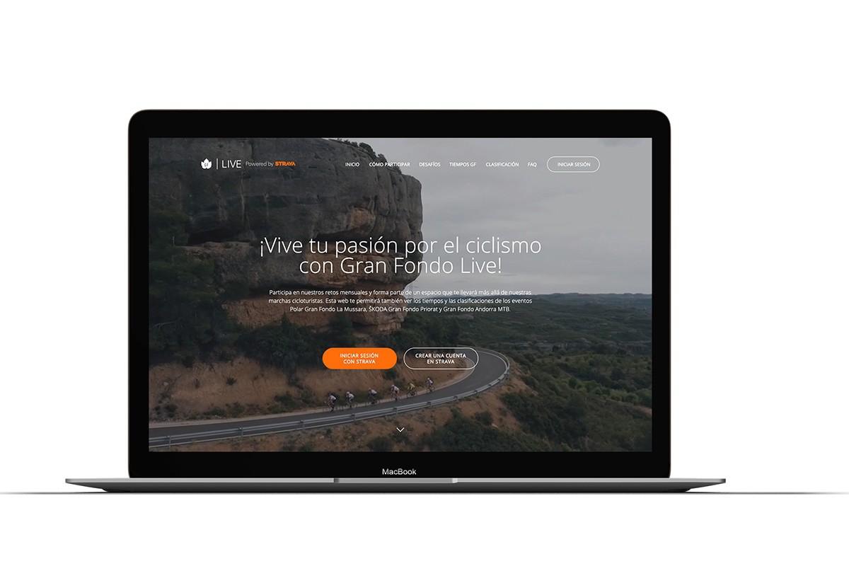 Gran Fondo Live powered by Strava