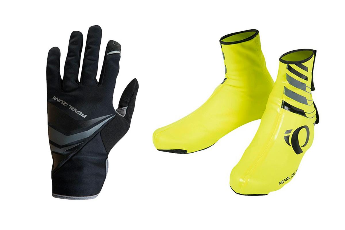 Complementos para el invierno en bici como guantes o cubrebotas