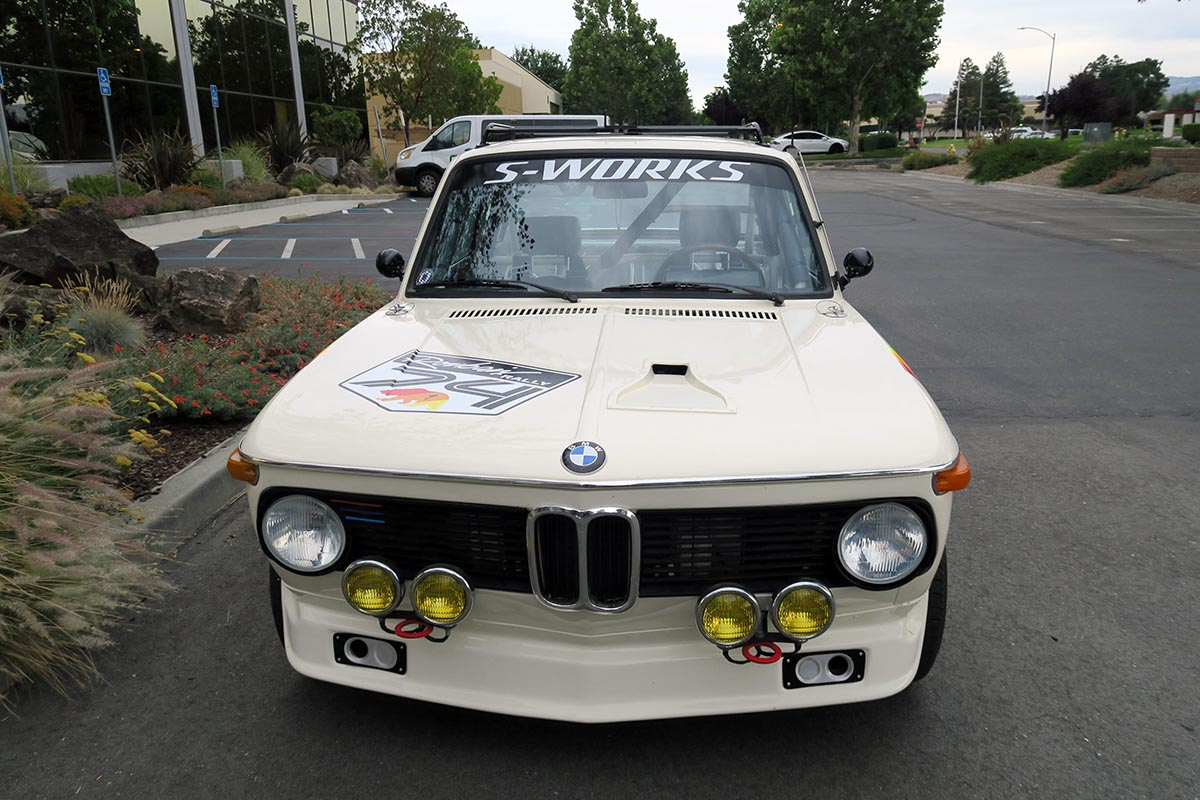 BMW 2002 turbo del 74 de Robert Egger