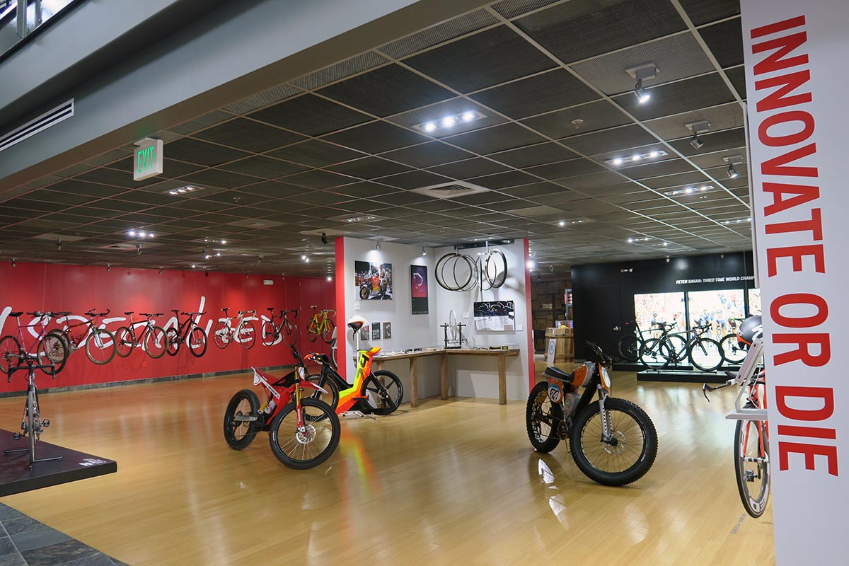 Instalaciones de Morgan Hill, sede de Specialized