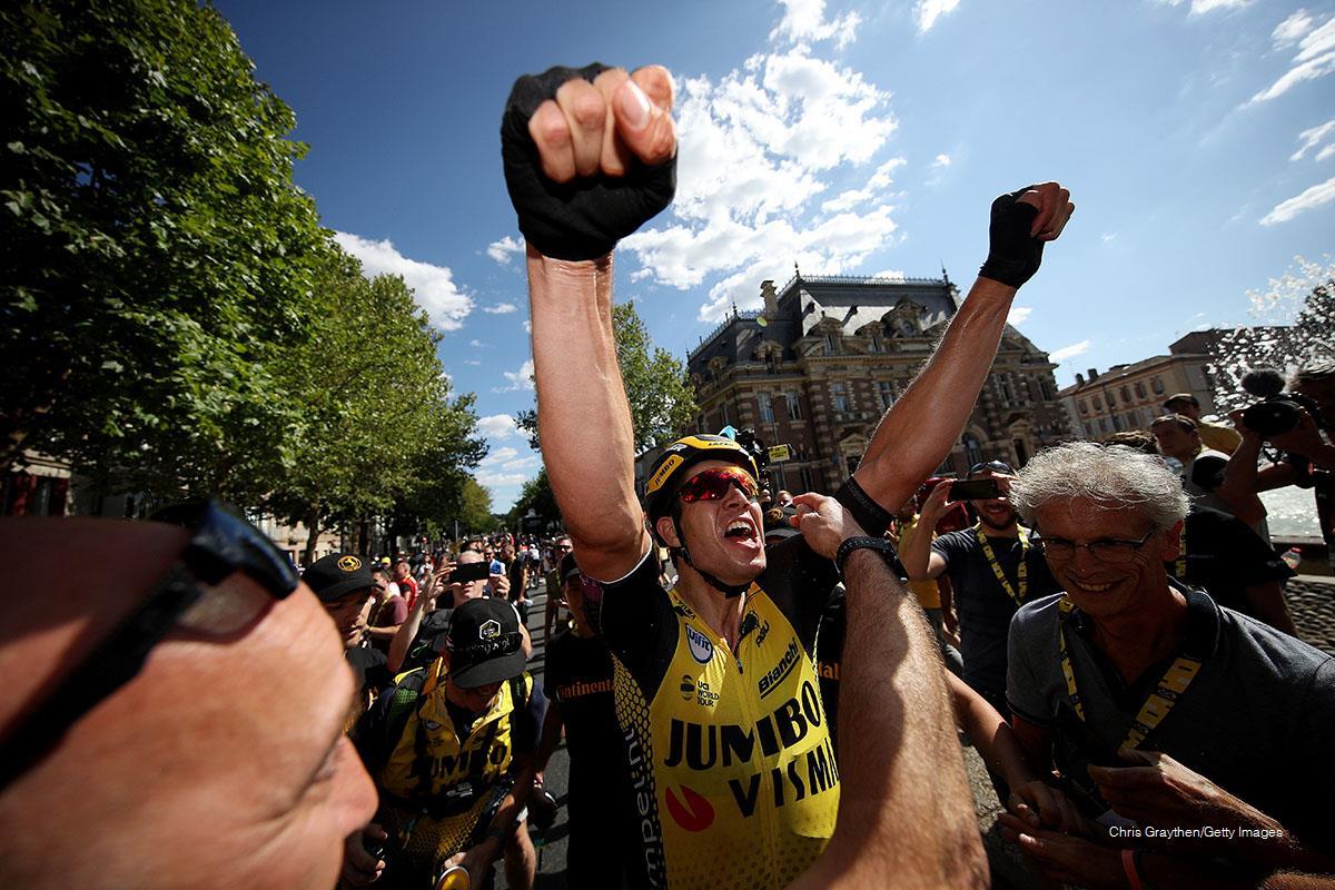 Victoria de etapa de Wout van Aert en el Tour de Francia 2019
